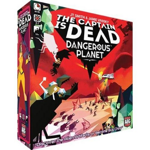 Captain is Dead, The - Dangerous Planet Board Game - image 1 of 1