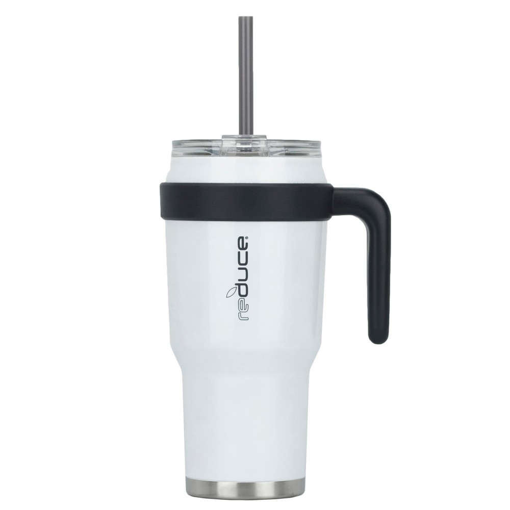 Image of Reduce 40oz Cold 1 Stainless Steel Hydration Bottle White