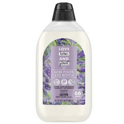 Love Home & Planet EasyDose Ultra-Concentrated Laundry Detergent - Lavender - 23.1 fl oz