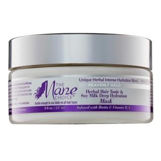 The Mane Choice Heavenly Halo Herbal Hair Tonic & Soy Milk Deep Hydration Mask - 8 fl oz