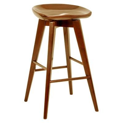 Amazing Bali Swivel 31 Barstool Hardwood Cappuccino Boraam Theyellowbook Wood Chair Design Ideas Theyellowbookinfo