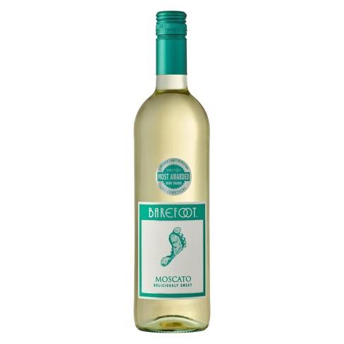 Barefoot Moscato Wine - 750ml Bottle - image 1 of 2