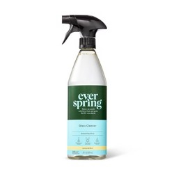 Lemon & Mint Glass Cleaner - 28 fl oz - Everspring™