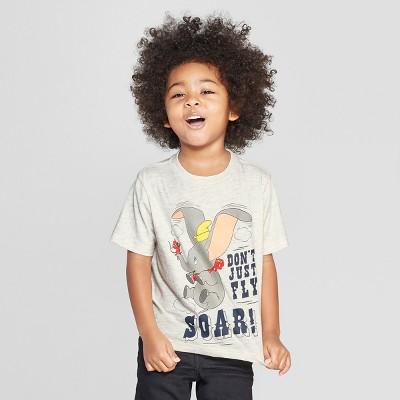 Toddler Boys' Disney Short Sleeve T-Shirt - Cream 18M
