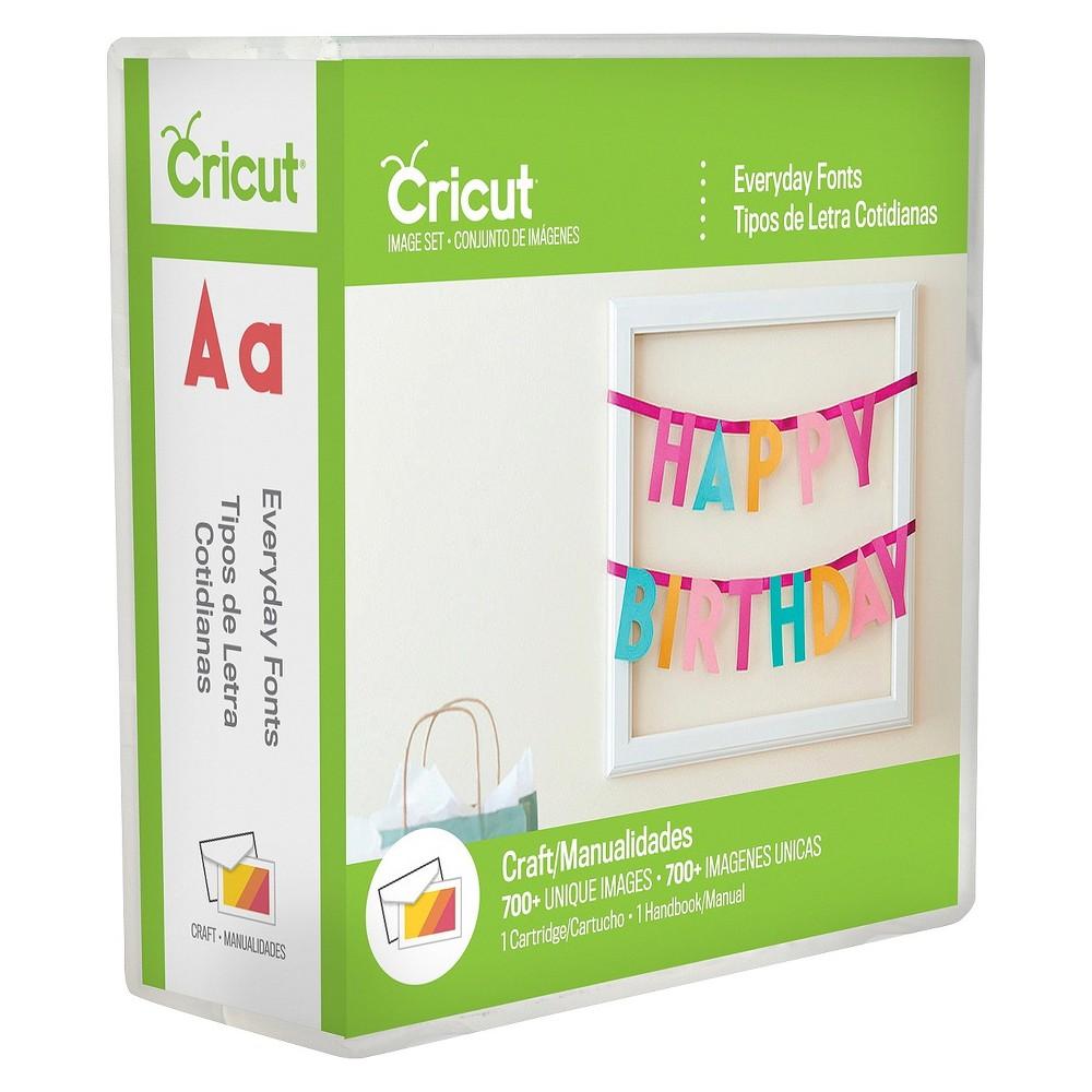 Cricut Font Cartridge - Everyday Font