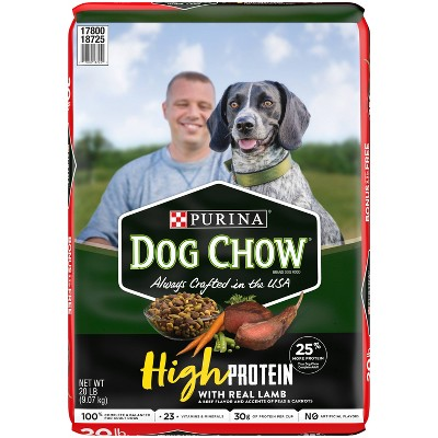 Purina Dog Chow High Protein Lamb Dry Dog Food