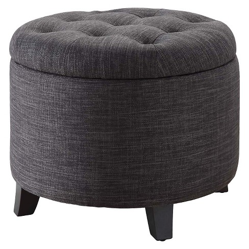 Ottoman Gray -  Convenience Concepts - image 1 of 5