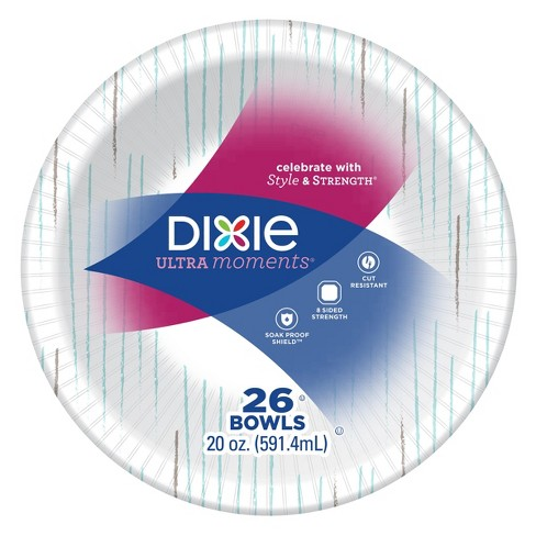 Dixie Multi Purpose Disposable Bowls - 26ct - image 1 of 4