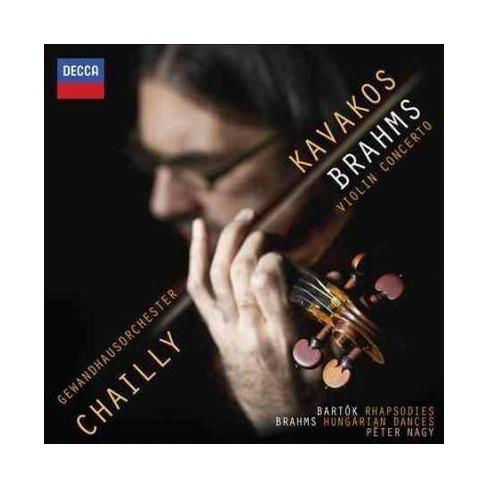 Leonidas Kavakos - Brahms: Violin Concerto (CD) - image 1 of 1