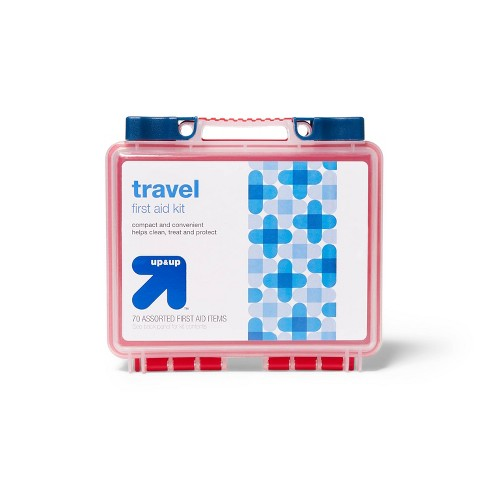 Travel First Aid Kit - 70pc - up & up™ - image 1 of 3