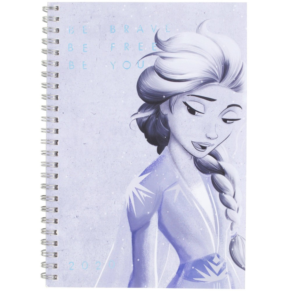 """Image of """"2020 Planner 5.5"""""""" x 8.5"""""""" Frozen 2 Twin-wire - At-A-Glance"""""""
