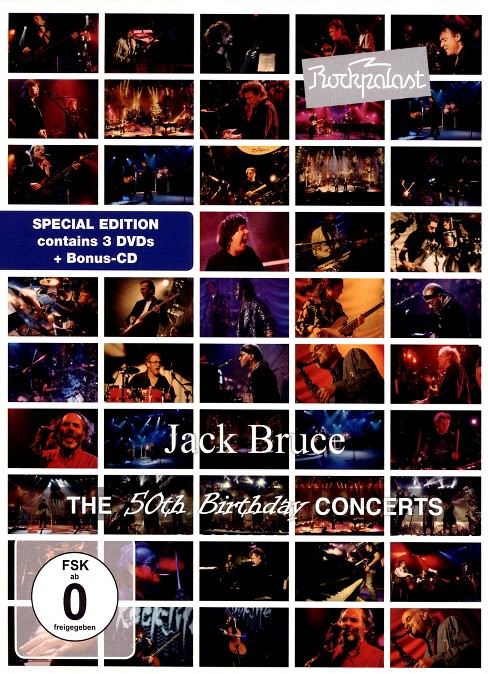 Jack bruce:Rockpalast 50th birthday c (DVD) - image 1 of 1