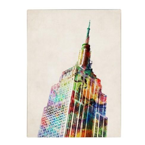 'Empire State' by Michael Tompsett Ready to Hang Canvas Wall Art - image 1 of 4