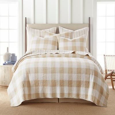 Camden Taupe Quilt and Pillow Sham Set - Levtex Home