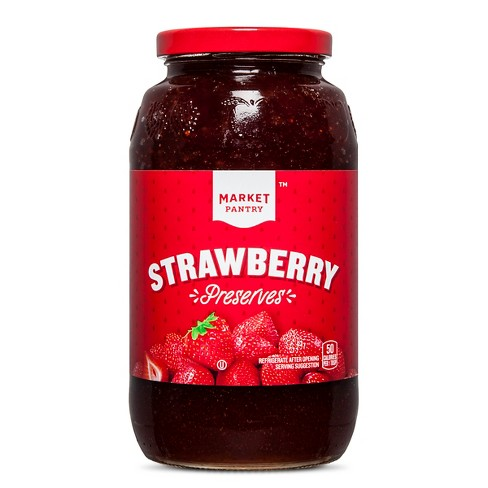 Strawberry Preserves - 32oz - Market Pantry™ - image 1 of 2