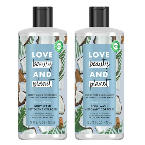 Love Beauty & Planet Refreshing Body Wash Soap Coconut Water & Mimosa  - image 1 of 3