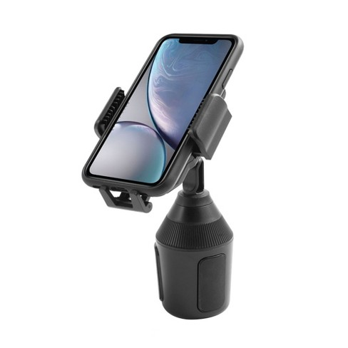 Insten Car Adjustable Cup Phone Holder Mount Cradle Stand For iPhone XS Max XS XR X 11 Pro Samsung Galaxy S10+ S10 S10e Note 10 Pixel 3 3XL Universal - image 1 of 2