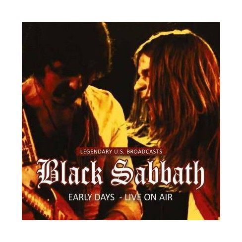 Black Sabbath - Early Years: Live On Air 1974 (CD) - image 1 of 1