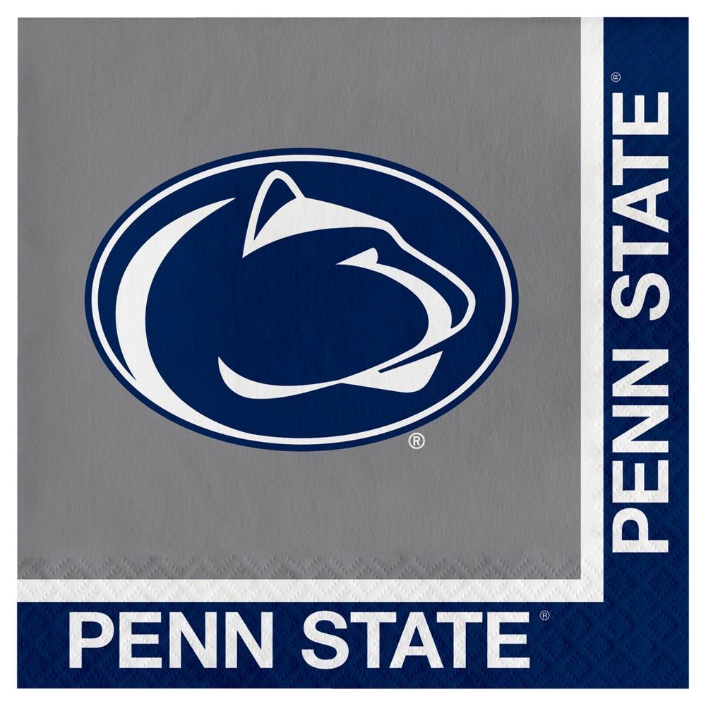 Image of 20ct Penn State Nittany Lions Napkins