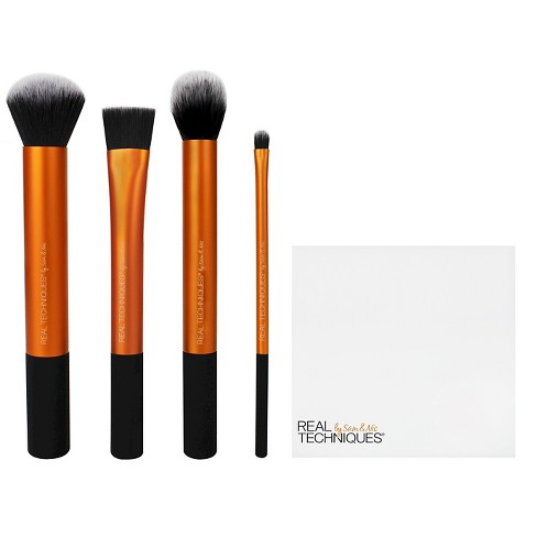 real techniques flawless base brush set target