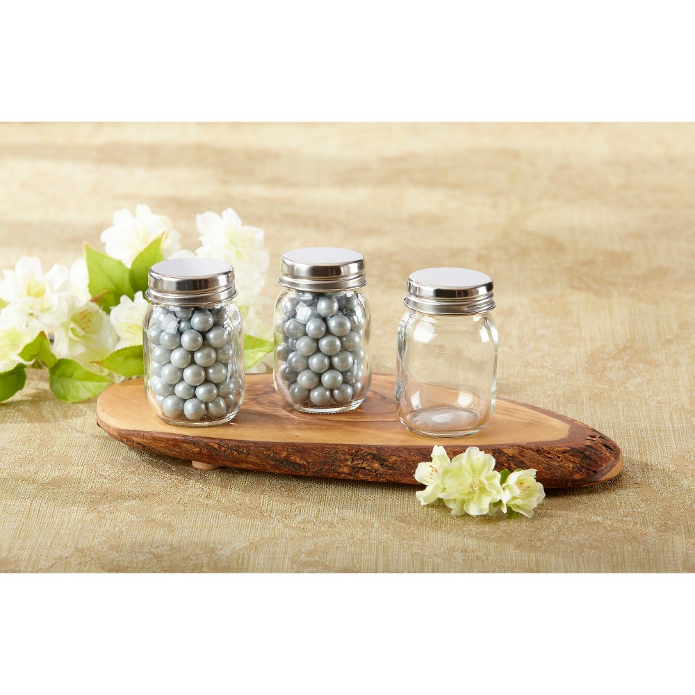 Image of 12ct Mini Glass Mason Jar