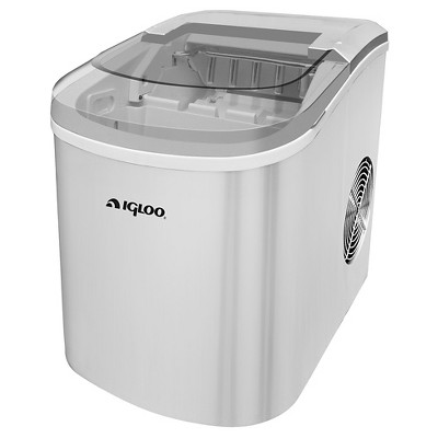 Igloo Compact 26 lb. Ice Maker - Silver