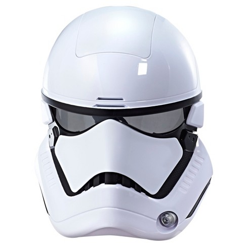 Star Wars: The Last Jedi First Order Stormtrooper Electronic Mask - image 1 of 9