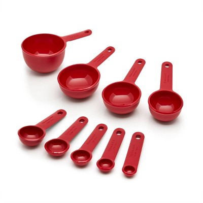 KitchenAid Measuring Set Red
