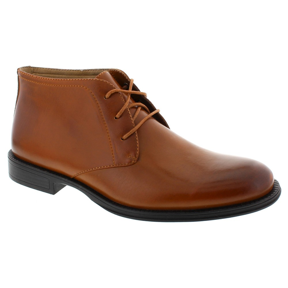 Men's Deer Stags Mean Chukka Boots - Chestnut 12, Brown