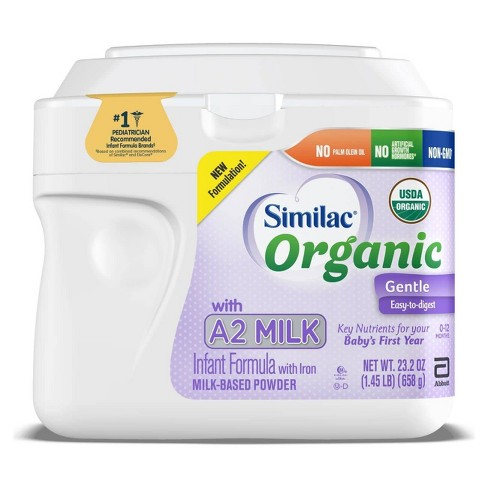 Similac Organic A2 Infant Formula Powder - 23.2oz - image 1 of 4