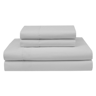 Wrinkle Free 420 Thread Count Cotton Sheet Set (Queen)White - Elite Home Products