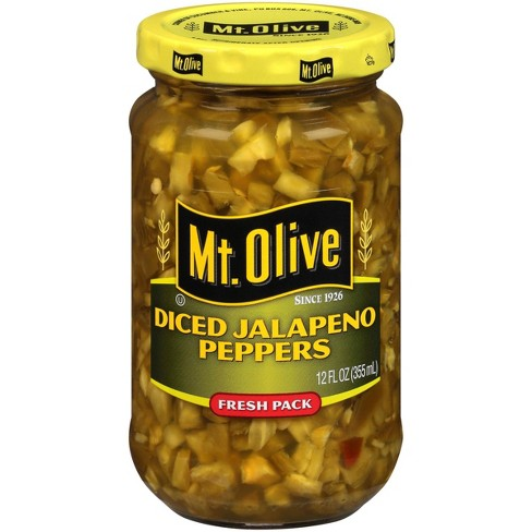 Mt. Olive® Diced Jalapeno Peppers - 12oz - image 1 of 4