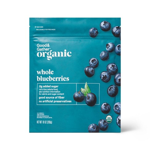 Organic Frozen Blueberries - 10oz - Good & Gather™ - image 1 of 2