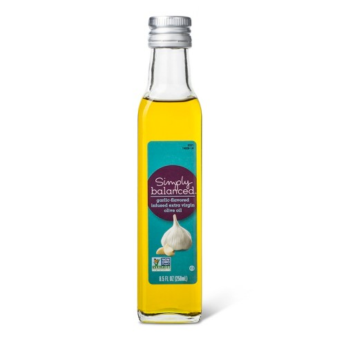 Garlic Infused Olive Oil - 8.5 fl oz - Simply Balanced™ - image 1 of 1