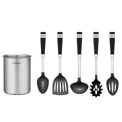 Cuisinart 6pc Stainlesss Steel Crock and  Barrel Handle Tools Set - CTG-00-BSC6