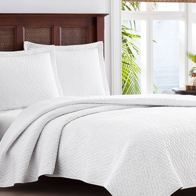 Full/Queen Harbor Island Quilt Set White - Tommy Bahama