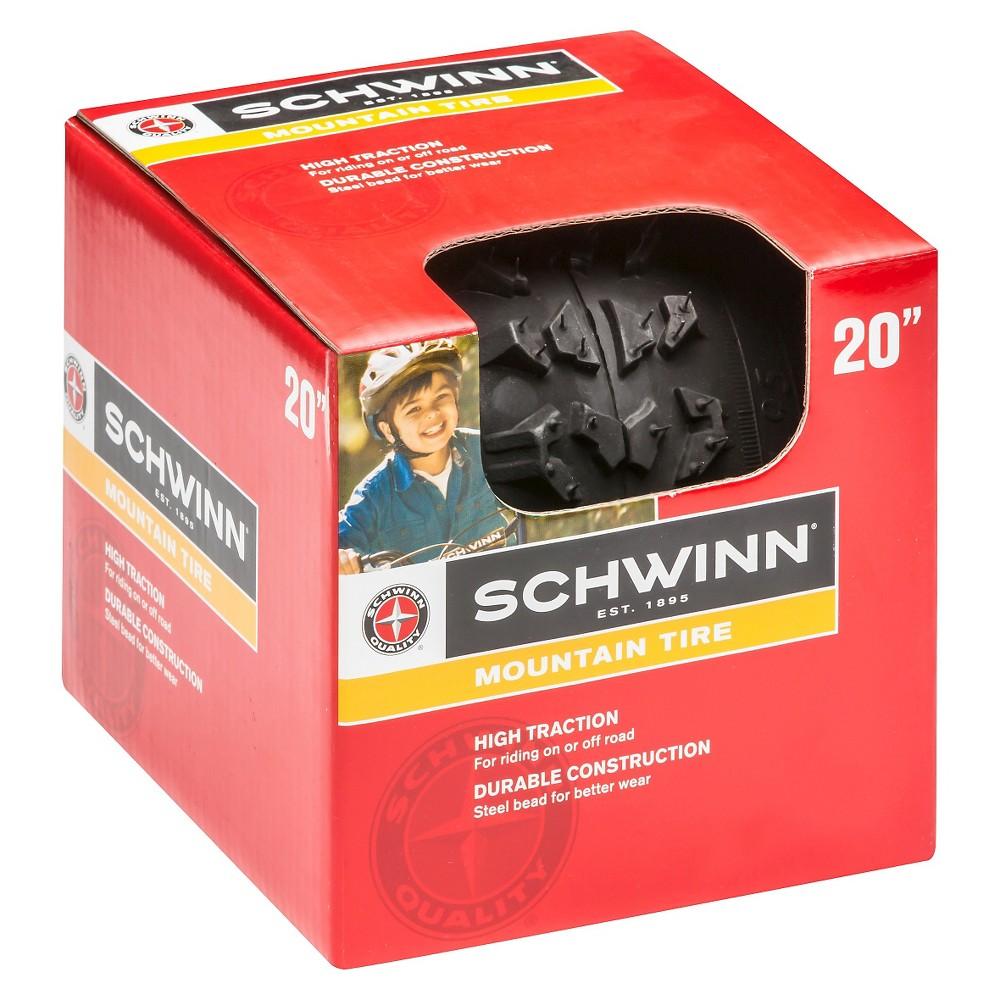 Schwinn All Terrain Bike Tire 20, Black
