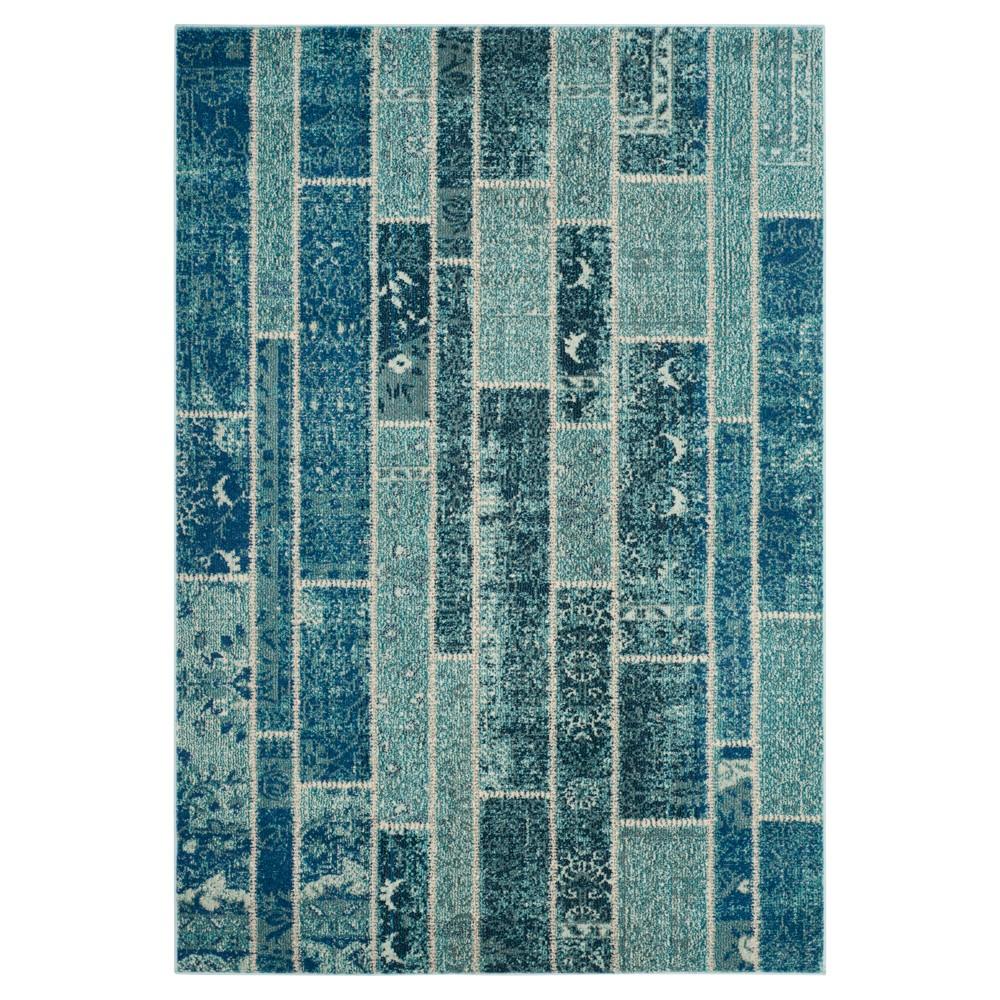 Randall Area Rug - Blue / Multi ( 4' X 5' 7 ) - Safavieh