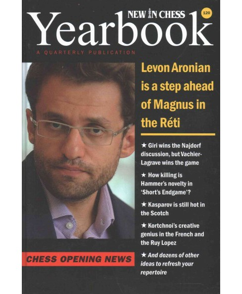 New in Chess Yearbook 120 : Chess Opening News (Annual) (Hardcover) - image 1 of 1