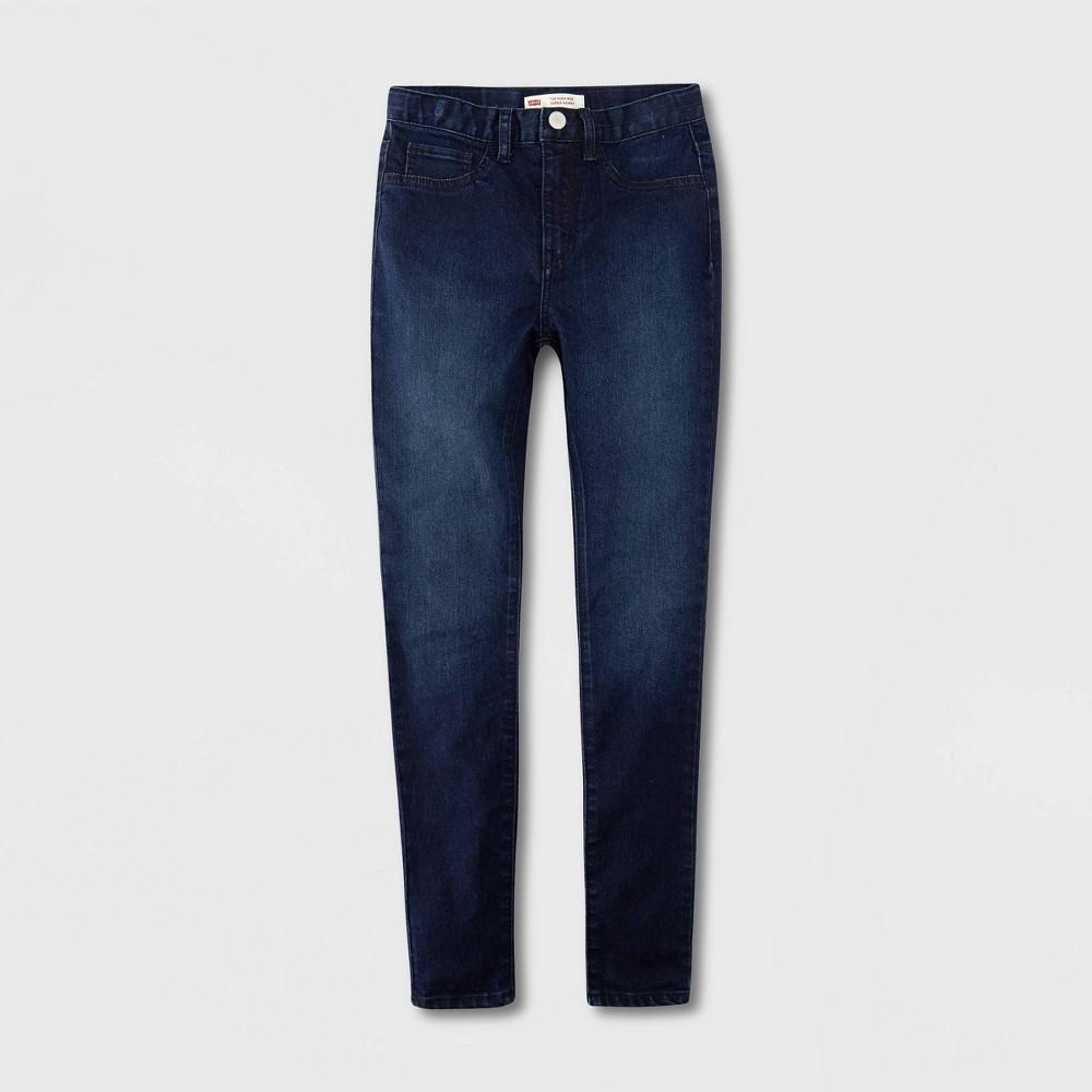 Levi 39 S 174 Girls 39 High Rise Super Skinny Jeans Night Bird Dark Wash 8