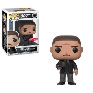 Funko POP! Movies: James Bond - Goldfinger - Oddjob (Hat)
