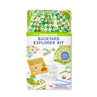 Kid Made Modern Backyard Explorer Kit