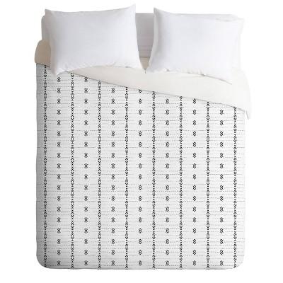 Holli Zollinger French Geometric Stripe Comforter Set - Deny Designs
