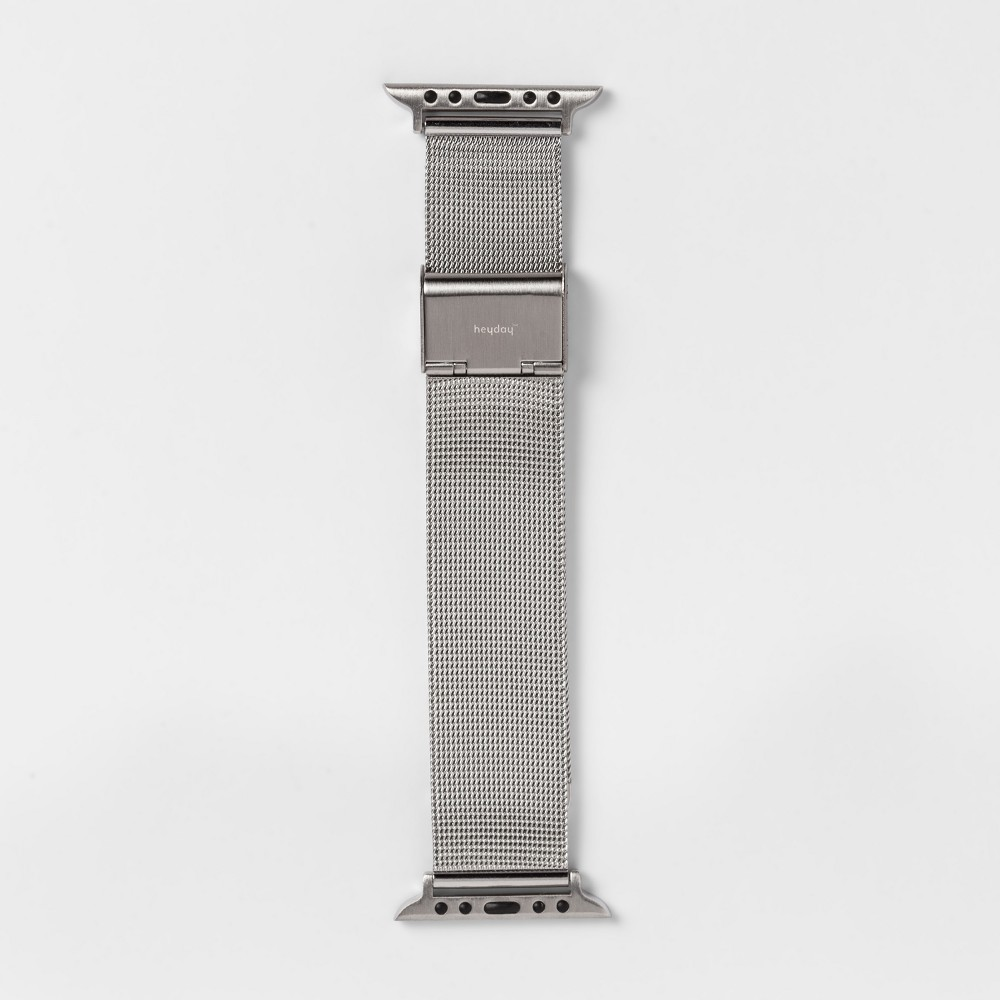 heyday Apple Watch Mesh Band 42mm - Silver, Size: 42-44mm