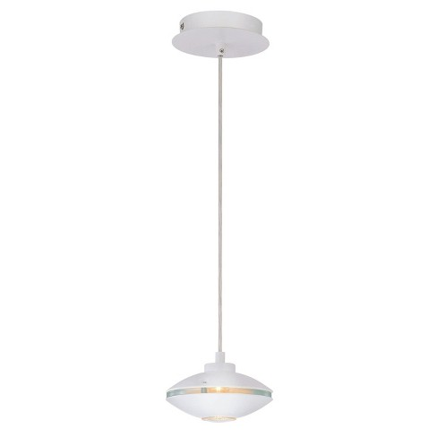 Lite Source Halogen Bulb Wall Light - White - image 1 of 1