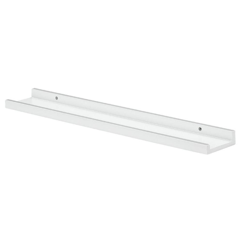 """Image of """"Dolle Border Floating Ledge Shelf (31.5"""""""") - White"""""""