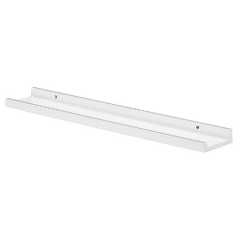 "Dolle Border Floating Ledge Wall Shelf (24"") - White - image 1 of 2"