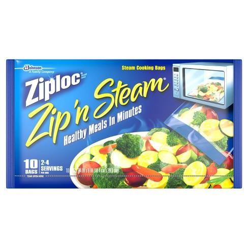 Ziploc Zip 'n Steam? Cooking Bags - 10ct - image 1 of 4