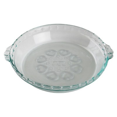 Pyrex Pie Plate Clear
