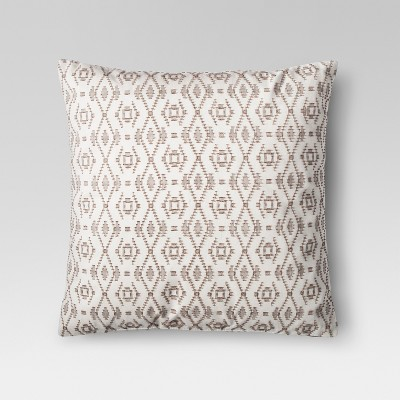 Neutral Global Weave Throw Pillow - Threshold™